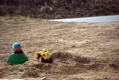 Hendrik traktoriga